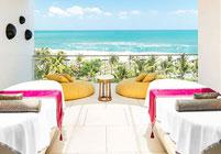 Best Luxury Spa in Seminyak - Away Spa facing the ocean